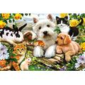 XYDXDY Adult Jigsaw Puzzle 1000 Piece Wooden Puzzle Animal Friendship Children Jigsaw Art Diy Casual Games Fun Toys Family Friends Suitable