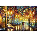 XYDXDY Jigsaw Puzzles For Adults 1500 Classic Jigsaw Oil Painting On The Road There Are You Adult Puzzles Demanding Jigsaw Puzzle Skills Game For The Whole Family