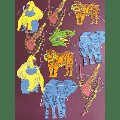 East End Press - Paper Garland Jungle Animals