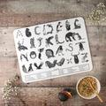Large Animal Alphabet Children's Placemat