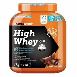 NAMEDSPORT® High Whey 6.4 Dark Chocolate 1000 g polvere per la prepara