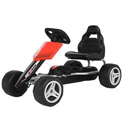 Kids Kart 4 Wheels Kids Pedal Go Kart Car Toy Boys And Girls Outdoor 3-8 Age Gift Car UK in Stock
