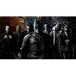JIAORLEI Jigsaw Puzzle 1000 Piece Wooden Jigsaw The Dark Knight Movie-Brain Challenge Big Puzzle For Kids Educational For Kids Education