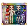 Rainbow High 577553EUC Special Editions Twins Laurel & Holly DE'VIOUS 2-Pack-Fashion Dolls with Rainbow Coloured Dresses-Includes Outfits, Accessories, & More-Gift & Collectable for Kids Ages 6+