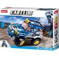 Sluban SL07115, veicolo fuoristrada – blu (145 pezzi) [M38-B0663C], set da gioco, mattoni, auto da corsa, con personaggio di gioco, Car Club