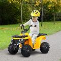 Awssya Kids Ride-on Car, Toddler Outdoor Ride-On Toys, 6V 4.5A Kid's Electric ATV Battery Powered Electric Cars, Small Beach Bike, with Music and Light, Great Gift for 1-6 Years Old - UK in Stock
