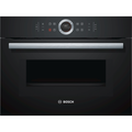 Refurbished Neff CMG633BB1B Serie 8 Built in 45 Litre with Microwave Compact Oven