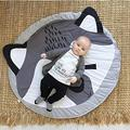 Play mat Newborn,Baby Play mats for Floor,Baby Play mats,Baby mat,Cute Play Game Mats Round Carpet Rugs Cotton Animals Play Mat Newborn Infant Crawling Blanket Floor Carpet Baby Room Decor