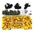 CHENJUAN Full Fairing Bolts Kit Screws Fasteners Kit Suitable for Ducati Monster 695 696 Monster 796 797 Monster 821 1200 Monster 1200S 1200R Motorcycle screws (Color : Gold)