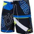 "speedo Allover 15"" Watershorts Boys revival navy/bondi blue/fluo yellow M   128 2020 Swimsuits"