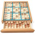 AQHXLS Sudoku Nine Square Grid Game Chess, with Drawers, with A Hundred Questions,Toys for The Elderly To Relieve Boredom, Training To Prevent Alzheimer's, Children's Puzzle and Decompression Sudoku G