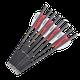 Flèches en plumes carbone pur,21,3 cm 2 arbalète diamètre 6mm petits boulons pour la chasse tactique