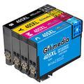 Gilimedia 405XL Ink Cartridges for Epson 405 405XL Ink Cartridges to use with Epson WorkForce Pro WF-4820 WF-4830 WF-3820 WF-4830DTWF WF-3825 WF-4825 (1 Black,1 Cyan, 1 Magenta, 1 Yellow)