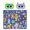 PetitCollage - 100 Piece Decoder Puzzle Monster Jam