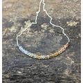 World Wide Gems Topaz bar Necklace Imperial Topaz Necklace Rainbow Moonstone bar Necklace Gemstone bar Topaz November Birthstone Gift for Wife Women 3mm Code- WAR6690