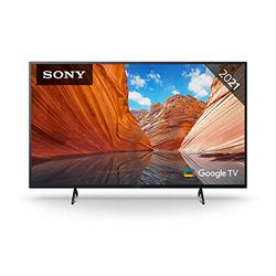 Sony BRAVIA KD55X80J - 55-inch - LED - 4K Ultra HD (UHD) - High Dynamic Range (HDR) - Google TV - (Black, 2021 model)