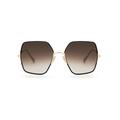 Sunday Somewhere - Eden In Gold Sunglasses