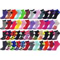 48 Pairs Womens Low Cut Ankle Socks, Comfortable Lightweight Breathable Athletic Bulk Pack Wholesale, Assorted Colors, One Size