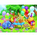 WYFCL 1000 Pieces Of Jigsaw Puzzle Diy Toy Puzzle Incredible Game Puzzle-Winnie The Pooh Party Poster-Adult Children Educational Decompression Toy