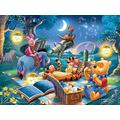 1000 Pieces Of Puzzle Games, Colorful Puzzle For Adults And Children-Winnie The Pooh Party Poster-Skill Games For The Whole Family , Family Games, Gifts
