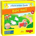 HABA 305878 – My Very First Games – Count' em up! An Animal Themed Numbers Game for Ages 2+ and Up, English Instructions (Made in Germany)