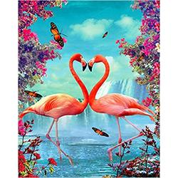 WAFJJ Jigsaw Puzzle Flamingo The Wooden Puzzle 1000 Pieces Jigsaw Puzzles Adult Children S Educational Toys Birthday size: 75*50 cm