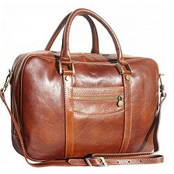 Tony & Paul. Gianpolo Leather Plain Brown Made in Italy