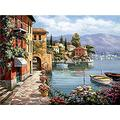 WAFJJ Jigsaw Puzzle city The Wooden Puzzle 1000 Pieces Jigsaw Puzzles Adult Children S Educational Toys Birthday size: 75*50 cm