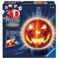 Ravensburger Halloween Pumpkin Shaped 3D Jigsaw Puzzle Ball for Kids Age 6 Years Up - 72 Pieces - with Lighting
