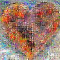 YU GONG FANG Puzzle for adults, 1500 pieces Buddhist heart painting, 3 years old children's puzzle