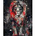 WAFJJ Jigsaw Puzzle lion The Wooden Puzzle 1000 Pieces Jigsaw Puzzles Adult Children S Educational Toys Birthday size: 75*50 cm