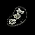 SKF Pompa Acqua + Kit Cinghia Distribuzione FIAT,LANCIA,JEEP VKMC 02193-2 46345839,55183527,55183528 Pompa Acqua + Kit Cinghie Dentate,Pompa 55187100