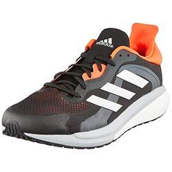 adidas Men's Solar Glide 4 St Walking Shoe, Grey Five Silver Met Signal Green, 10.5 UK