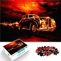 Jigsaw puzzle 1000 pieces puzzle game British luxury top car wooden puzzle 50x75cm adults and children brain challenge puzzle