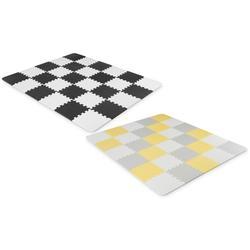 Kinderkraft Luno Foam Mat: Yellow