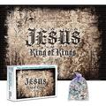 CFVHB Jigsaw Puzzles For Adults, 1000 Pieces Jigsaw Puzzles, Intellective Puzzle Game For Fun, Educational Games Home Decoration Puzzle, Great Gift Choice /Jesus /75*50Cm