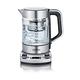 SEVERIN Wasserkocher 1.7 L Schwarz, Silber, Transparent 3000 W WK 3422