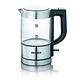 SEVERIN Wasserkocher 0.5 L Schwarz, Silber, Transparent 1100 W WK 3472