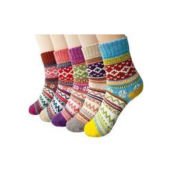 Women's Winter Thermal Socks: 5-Pack