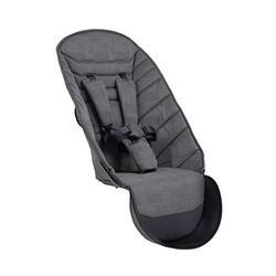 iCandy Peach 2nd Seat Fabric, Dark Grey Check, IC2206
