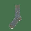 Alto Milano - Check Short Socks Green - TG II 39 - 41