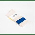 Jollies Socks - - Light Blue Stripe Gym Socks - small (3-5) | Light Blue Stripe