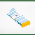 Jollies Socks - - Light Blue Chunky Loop Socks - small (3-5) | Light Blue Stripe