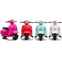 Kids Vespa Bike Ride-On Toy: Turquoise