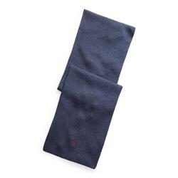 Polo Ralph Lauren Pony Player Scarf In Ribbed Merino Wool