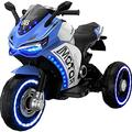 Kids Electric Motorcycle 4 Wheel Trike Motorcycle For Kids, Battery Powered Ride On Toy Ride On Toys For Boys And Girls, Toddler And Up,1-8 Years