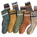 UKKO Socks Socks Women Autumn And Winter Tube Socks Women Solid Color Socks Stockings Women High Tube Men'S Socks