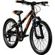 Galano G200 20 Zoll Kinderfahrrad Mountainbike Kinder Fahrrad 7 Gänge ab 6 Jahre... schwarz/orange, 26 cm