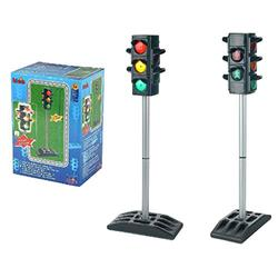 Theo Klein 2990 Traffic Lights I Battery-powered traffic lights with manual or automatic traffic light cycle I Dimensions: 27 cm x 12.5 cm x 72.5 cm high I Toy for children aged 3 years and up