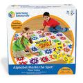 Learning Resources Alphabet Marks the Spot Alphabet Activity Game